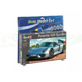 MODEL SET - PORSCHE 918 SPYDER (1/24)