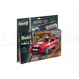 Maquette de FORD SHELBY 2010 GT 500 Model Set