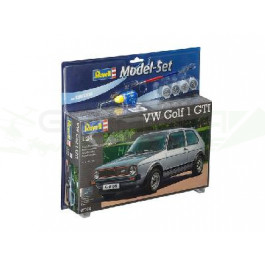 Maquette de VW GOLF 1 GTI 1/24 Model Set