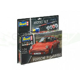 MODEL SET - PORSCHE 911 TURBO (1/24)