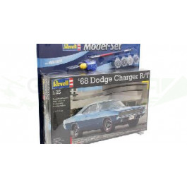 Maquette de 1968  DODGE CHARGER 1/24 Model Set