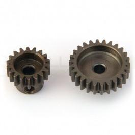 Micro Pignion aluminium pour moteur 1/18eme 48dp 17T