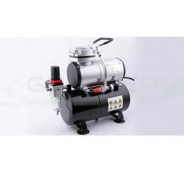 Compresseur mono-piston avec cuve