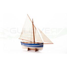 Maquette bois bateau Espérance 1/30