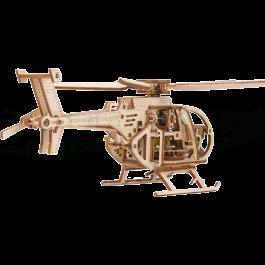 Puzzle mécanique bois Hélicoptère