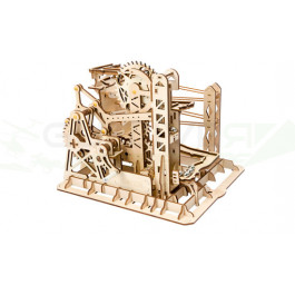 Puzzle mécanique Piste de billes avec ascenseur Robotime