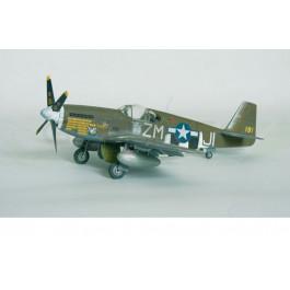 Maquette de P-51C Mustang Bendix 1/48