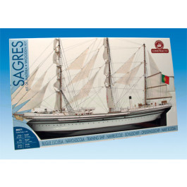Maquette de bateau Sagres 1/190