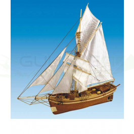 Maquette de bateau GJOA 1/64