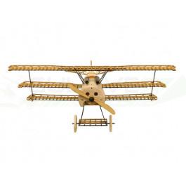 Maquette statique Fokker DR1 Static 1/18 en kit bois