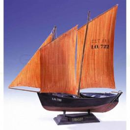 Maquette de voilier Le Sinagot 1/60