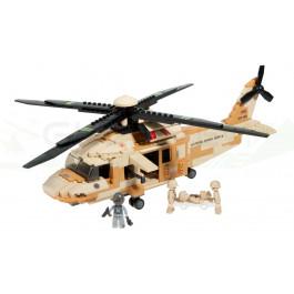 Sluban Helico Black Hawk 439pcs M38-B0509