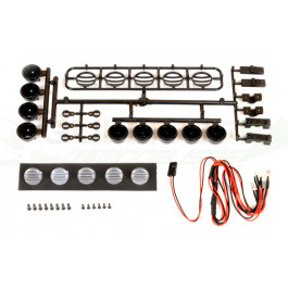 Kit 5 LEDS noir pour Crawler ou Camion RC
