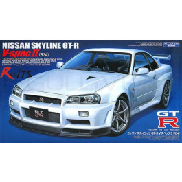 Maquette de Nissan Skyline GTR V