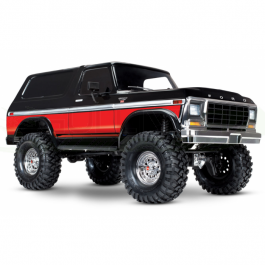 TRX-4 version Ford Bronco Traxxas Rouge