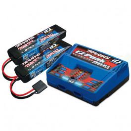 Pack chargeur Traxxas 2972G + 2 Lipo 2s 7600mah 2869X
