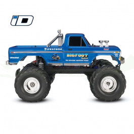 BIGFOOT NO. 1- 4x2 - 1/10 BRUSHED TQ 2.4GHZ - iD Traxxas