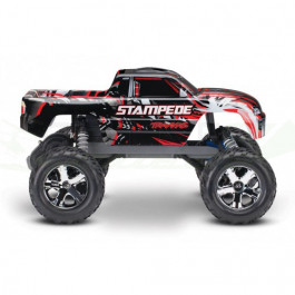 Stampede 4x2 - 1/10 Brushed TQ 2.4GHZ - iD Rouge