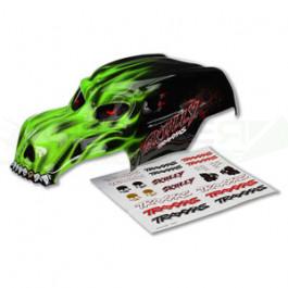 Carrosserie skully vert + autocollants
