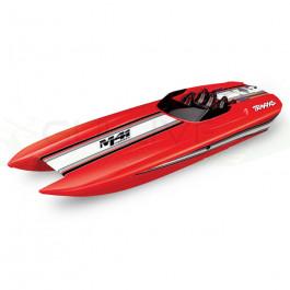 Catamaran dcb m41 40'' rtr tqi tsm rouge Traxxas