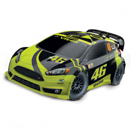 FORD FIESTA ST RALLY VR46 Edition - 4X4 - 1/10 BRUSHED Traxxas