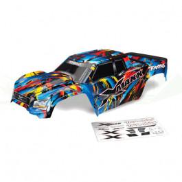 Carrosserie x-maxx Rock n' Roll peinte et colorée