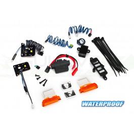 Kit complet LED + alimentation 3V - 0.5A pour TRX-4 Ford Bronco Traxxas