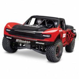 Unlimited Desert Racer - 4X4 - VXL - TSM - Rouge Traxxas