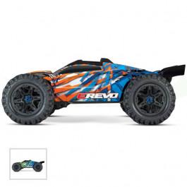 E-REVO 2 - 4x4 - 1/10 brushless - TSM - sans AQ/CHG - Orange Traxxas