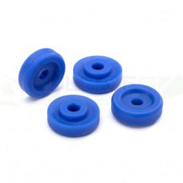 Rondelles de roues bleues pour Traxxas Maxx