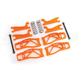 Kit de suspension large orange Widemaxx pour Traxxas Maxx