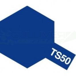 Bombes de peinture Blue Mica TS50 Tamiya