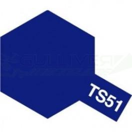 Bombes de peinture Bleu Telefonica TS51 Tamiya