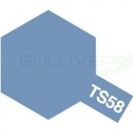 Bombes de peinture Bleu Clair Nacre TS58 Tamiya