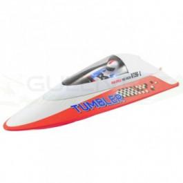 Bateau Volantex tumbler mini racing RTR Rouge