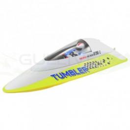 Bateau Volantex tumbler mini racing RTR Jaune
