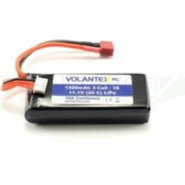 Batterie Lipo 11.1V 1500MAH pour Bateau Volantex vector 40