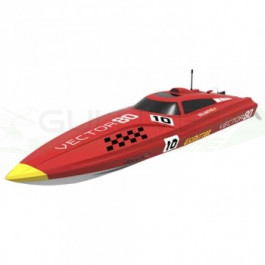 Bateau Volantex vector 80 brushless RTR ss batterie Rouge