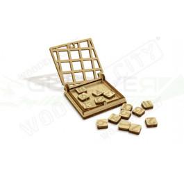 Puzzle mécanique bois Mini Casse Tête QI (Quinze)