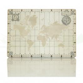 Puzzle mécanique bois Carte du monde expédition série points