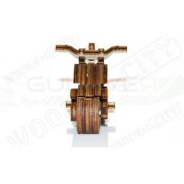 Puzzle mécanique bois Moto Widget