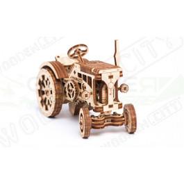Puzzle mécanique bois Tracteur