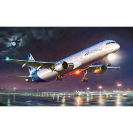 Maquette d'avion Airbus A321 1/144