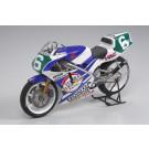 Maquette de moto Ajinomoto Honda NSR250 90 1/12