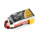 Batterie LI-PO Tattu 1550mAh 14.8v 75c 4s RS