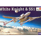 """Maquette de navette spatiale """"WHITE KNIGHT"""" et SS1 1/72"""