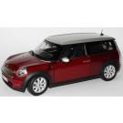 Miniature 1/18 Mini Cooper Clubman 2007 bordeaux/silver Kyosho