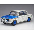 Maquette de BMW 2002ti 1969 Monte Carlo 1/24