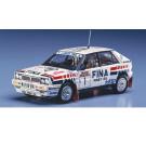 Maquette de Lancia Delta HF 16V San Remo Rally 1/24