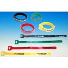 Colliers velcro 33 cm 4 couleurs x2 soit 8 colliers